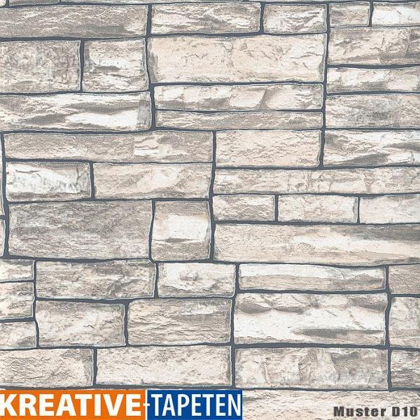 tapete stein 2 56 m 14 verschiedene vliestapete. Black Bedroom Furniture Sets. Home Design Ideas